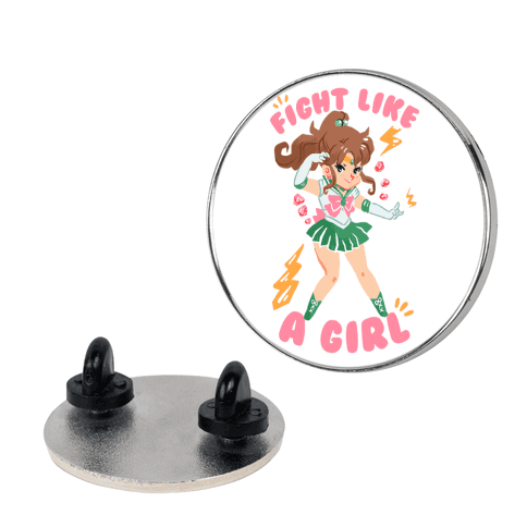 Fight Like A Girl: Jupiter Parody pin