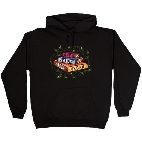 One Readin Vegan Hooded Sweatshirt