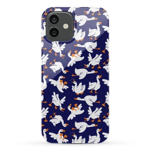 Goose Pattern Phone Case
