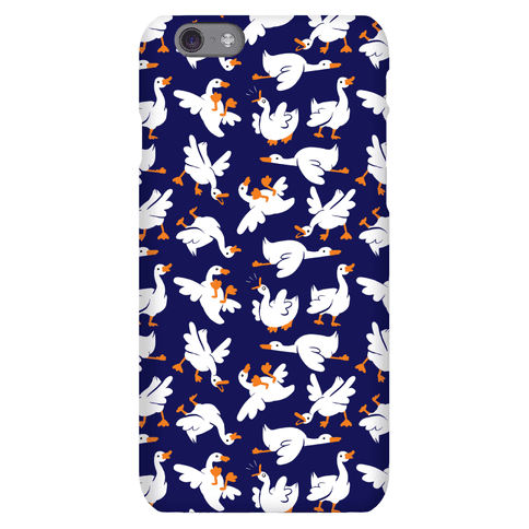 Goose Pattern Phone Case