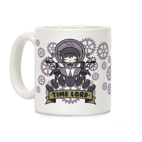 Homura Time Lord Coffee Mug