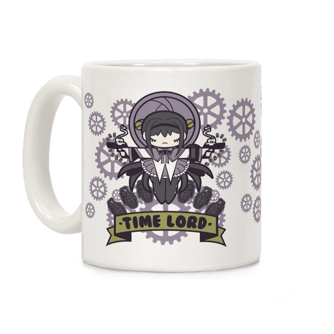 Homura Time Lord Coffee Mug