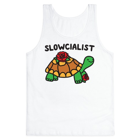 Slowcialist Turtle Tank Top