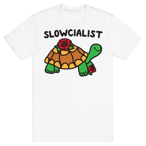 Slowcialist Turtle T-Shirt