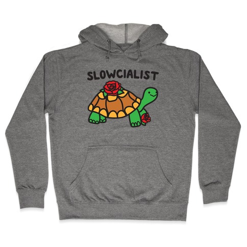 Slowcialist Turtle Hooded Sweatshirt