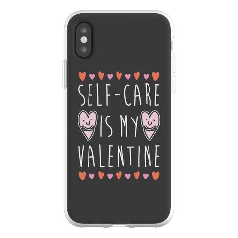 Self-Care Is My Valentine Phone Flexi-Case