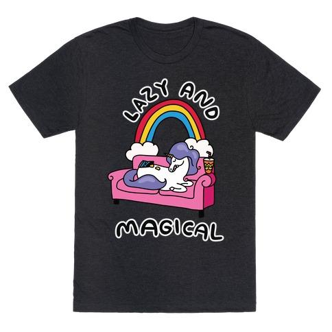 Lazy & Magical T-Shirt