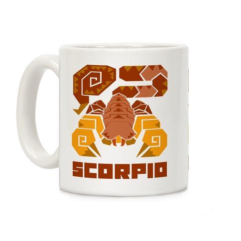 Monster Hunter Astrology Sign: Scorpio Coffee Mug