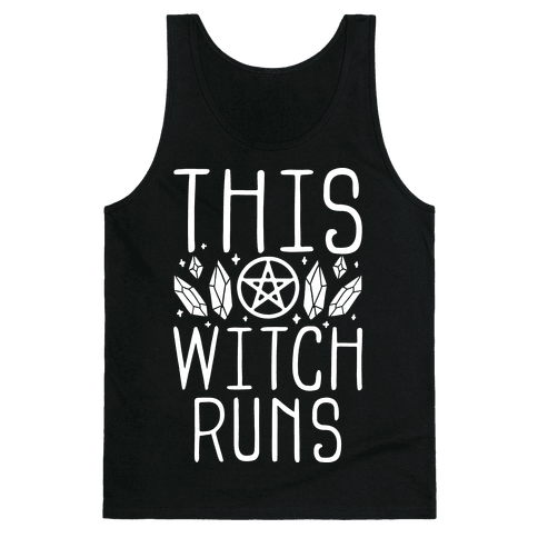 This Witch Runs Tank Top