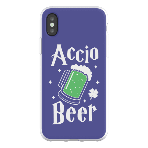 Accio Beer St. Patrick's Day Phone Flexi-Case
