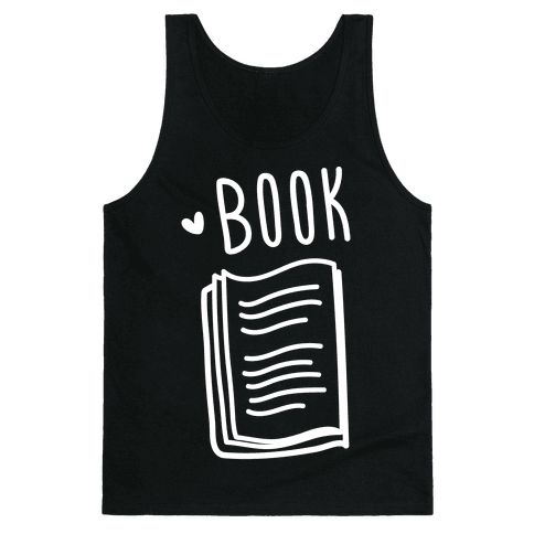 Book Buds 1 (White) Tank Top