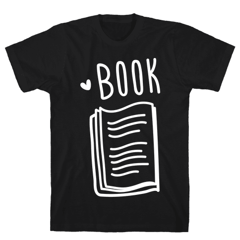 Book Buds 1 (White) Mens T-Shirt