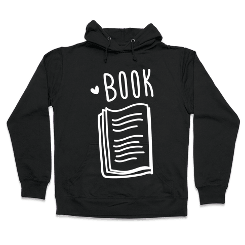 Book Buds 1 (White) Hooded Sweatshirt