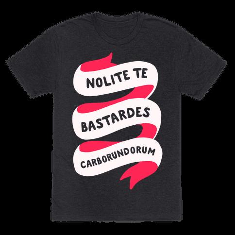 Nolite Te Bastardes Carborundorum Banner