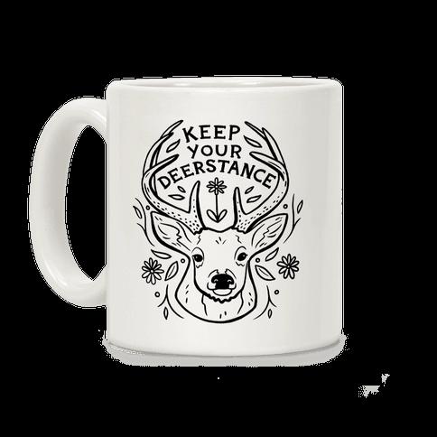 Keep Your Deerstance Coffee Mug