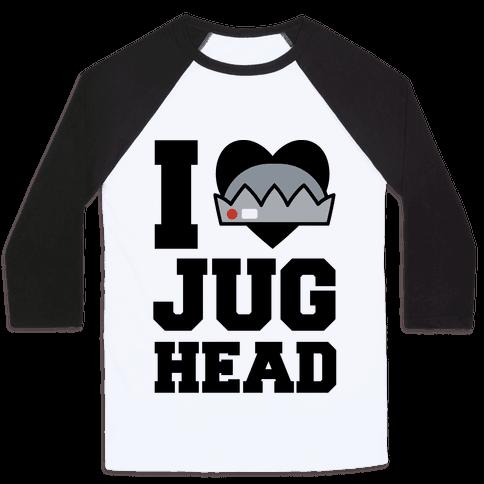 I Love Jughead  Baseball Tee