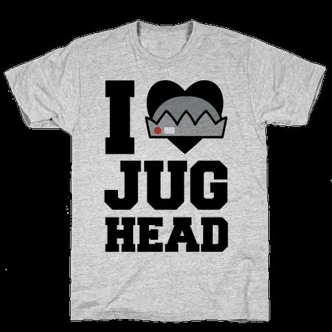 I Love Jughead  Mens T-Shirt