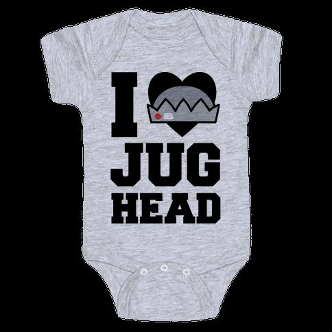 I Love Jughead  Baby Onesy