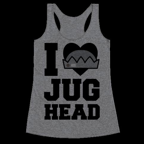I Love Jughead  Racerback Tank Top