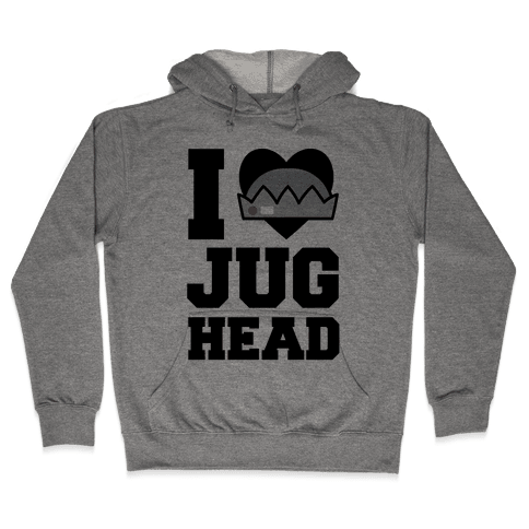 I Love Jughead  Hooded Sweatshirt