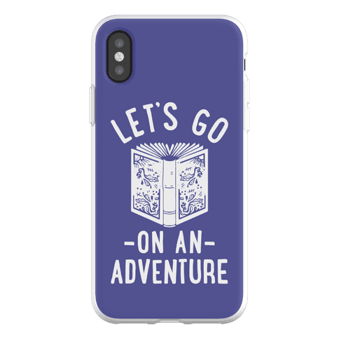 Let's Go On An Adventure Phone Flexi-Case
