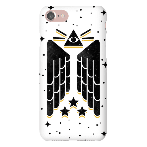 Illuminati Wings Phone Case