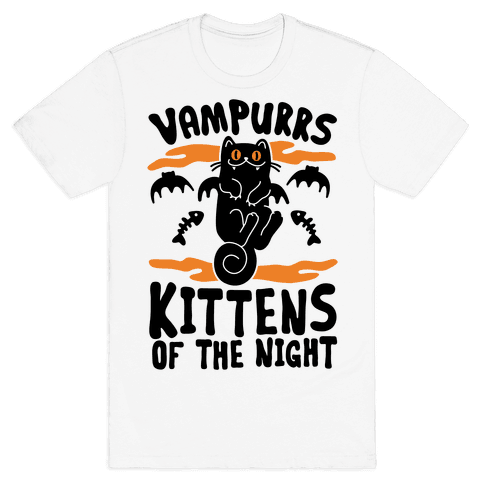 Vampurrs Mens T-Shirt