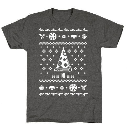 Ugly Pizza Christmas Sweater T-Shirt