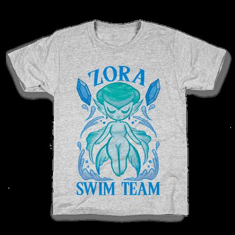 Zora Swim Team Parody Kids T-Shirt