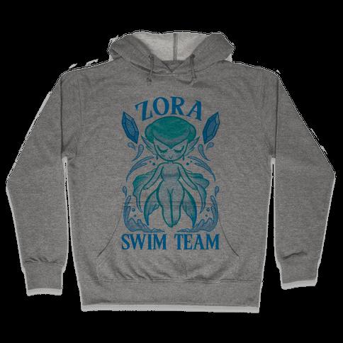 Zora Swim Team Parody Hooded Sweatshirt