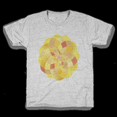 Geometric Summer Blossom Kids T-Shirt
