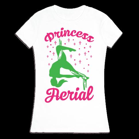 Princess Aerial Womens T-Shirt
