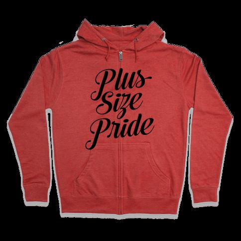 Plus Size Pride Zip Hoodie