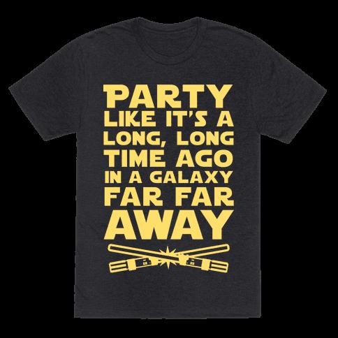 Party Like it's a Galaxy Far Far Away