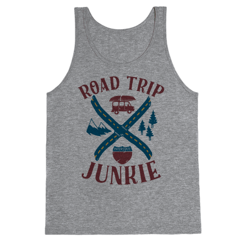 Road Trip Junkie Tank Top