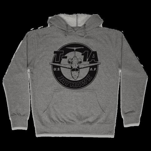T-1A Jayhawk Hooded Sweatshirt