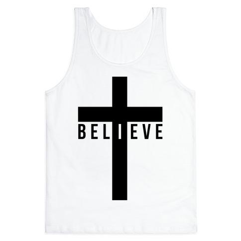 I Believe (Cross) Tank Top