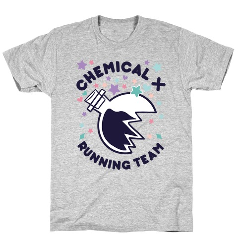 Chemical X Running Team T-Shirt