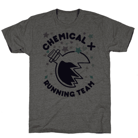 Chemical X Running Team Mens T-Shirt