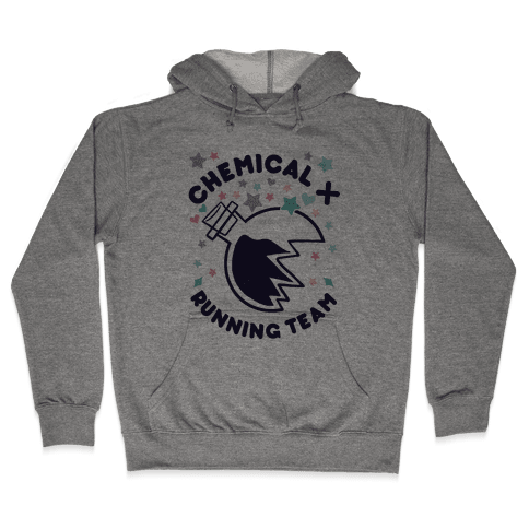 Chemical X Running Team Hooded Sweatshirt