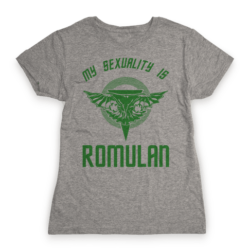My Sexuality Is Romulan Womens T-Shirt