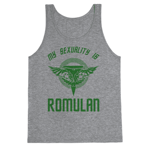 My Sexuality Is Romulan Tank Top