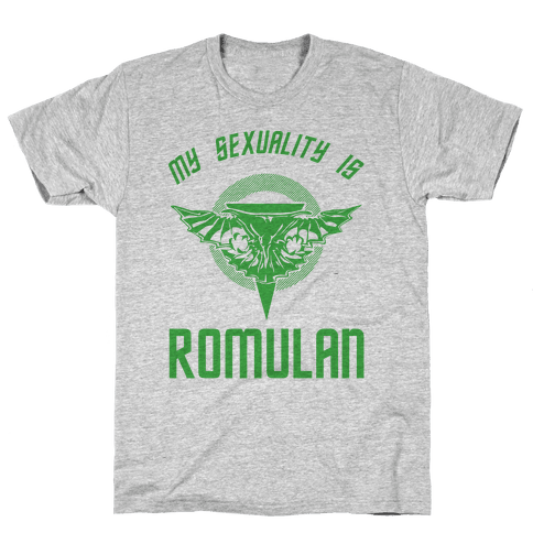 My Sexuality Is Romulan Mens T-Shirt