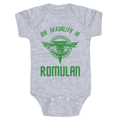 My Sexuality Is Romulan Baby Onesy