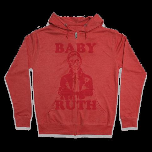 Baby Ruth Zip Hoodie