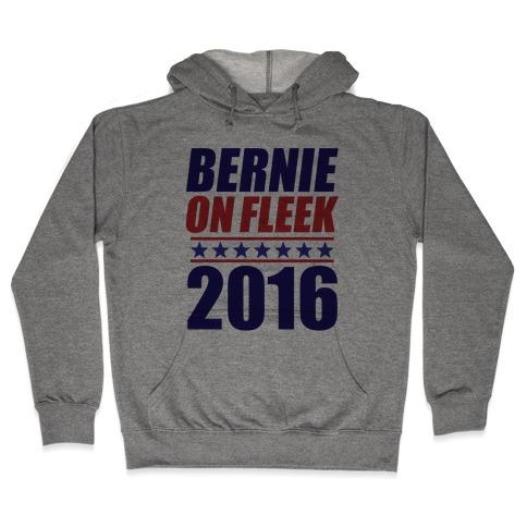Bernie on Fleek Hooded Sweatshirt
