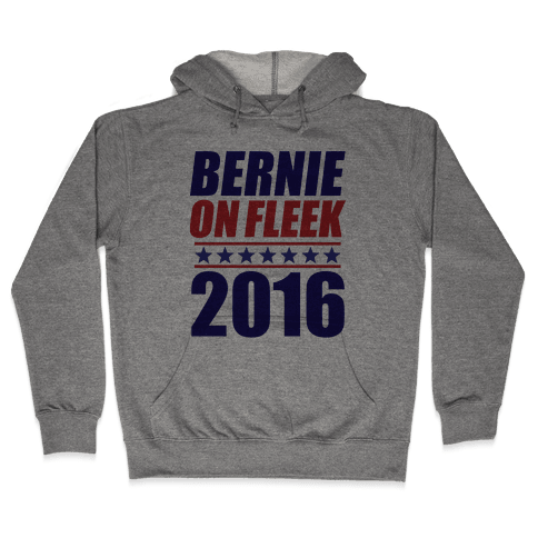Bernie on Fleek Hooded Sweatshirt