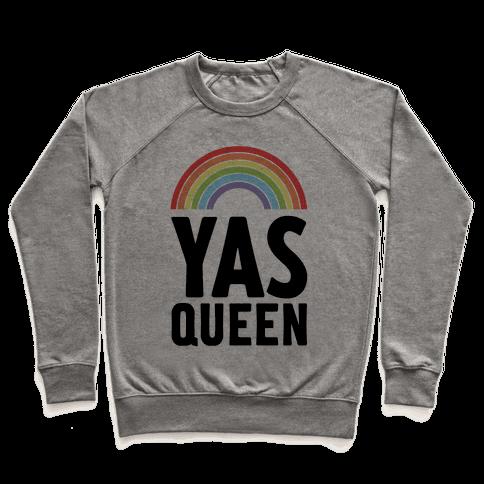Yas Queen Rainbow Pride Pullover