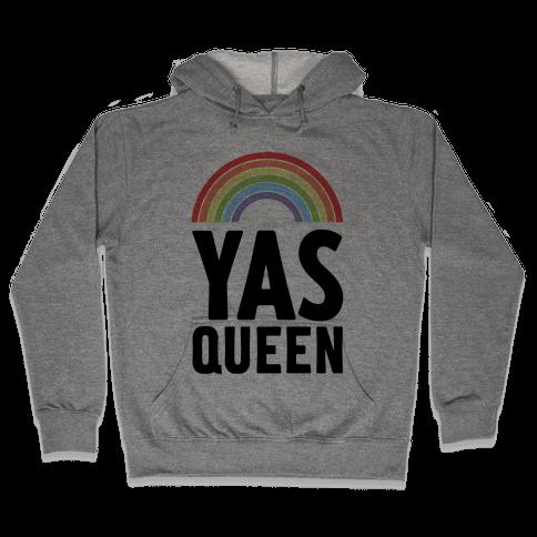 Yas Queen Rainbow Pride Hooded Sweatshirt