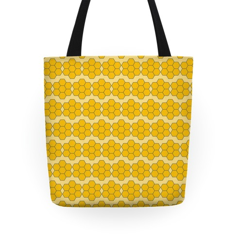 Honey Comb Pattern Tote